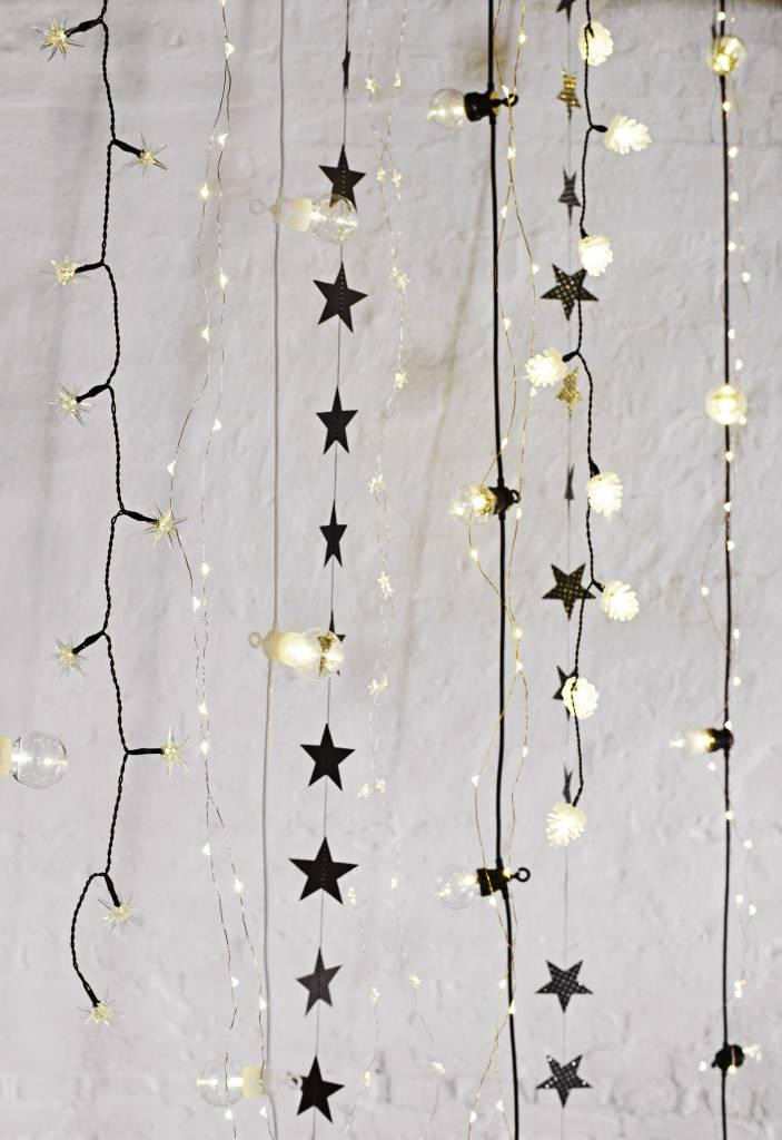 MADAM STOLTZ indoor wire lights white stars