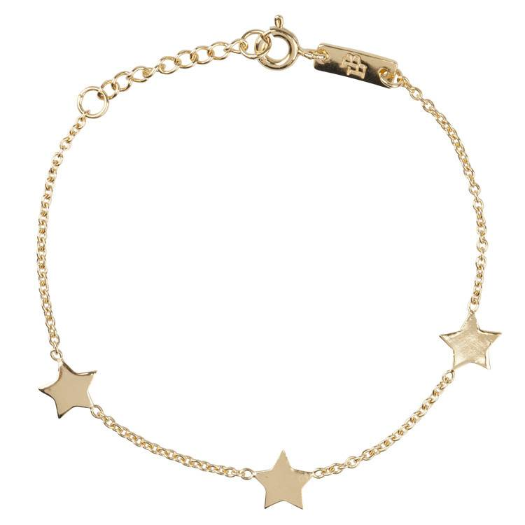 LENNEBELLE you are my shining star bracelet daughter gold plated