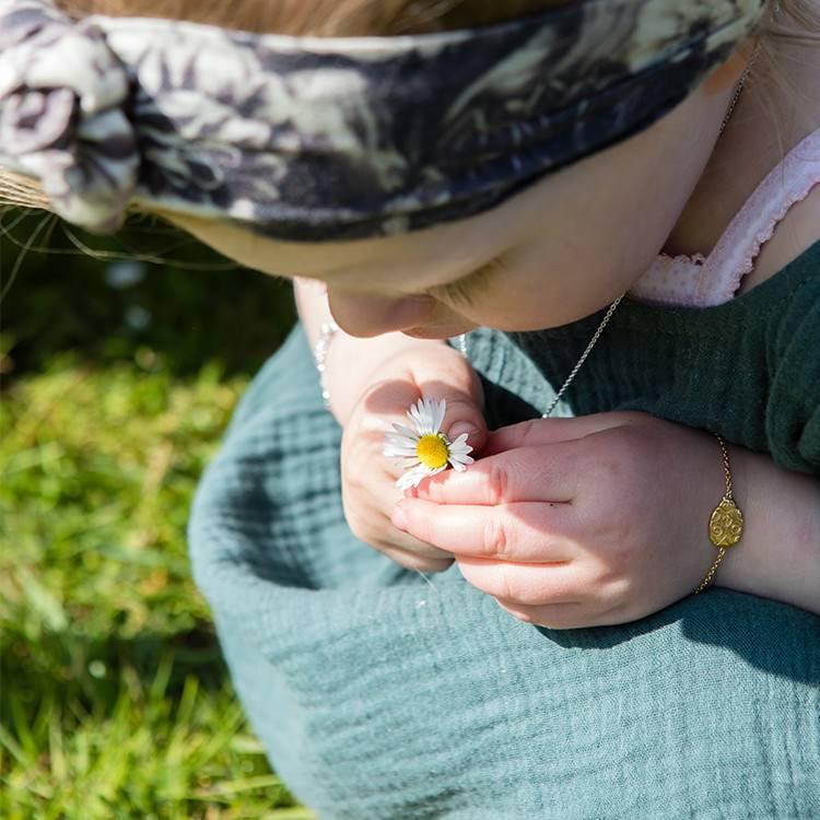 LENNEBELLE ladybug bracelet daughter gold plated