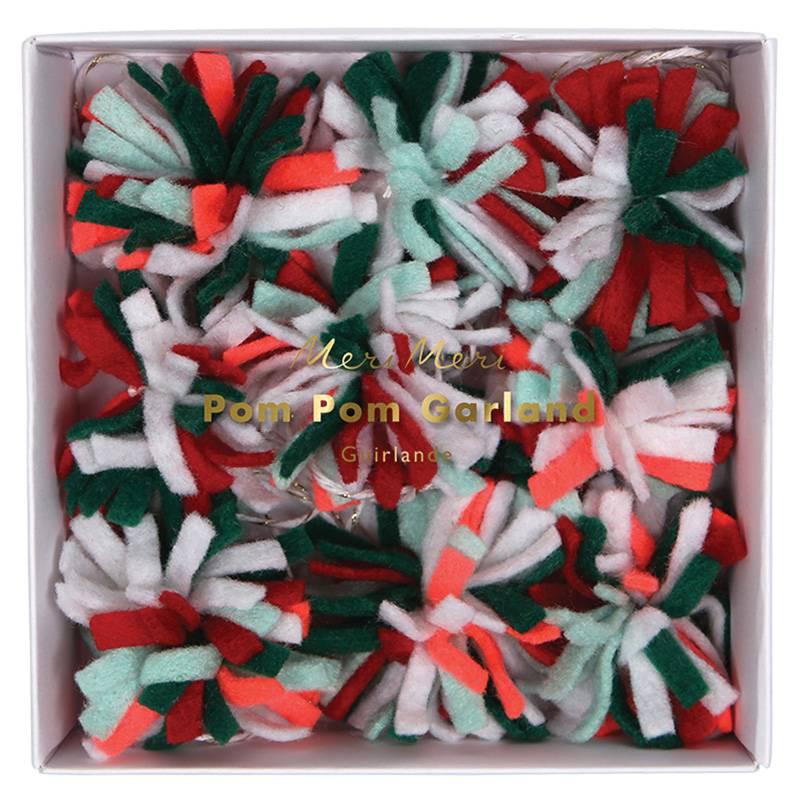 MERIMERI mini pom-pom garland