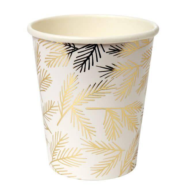 MERIMERI Gold pine cups