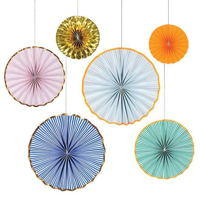 MERIMERI Bright stripe pinwheels