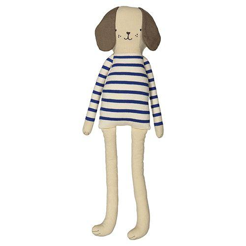 MERIMERI Knitted dog character cushion