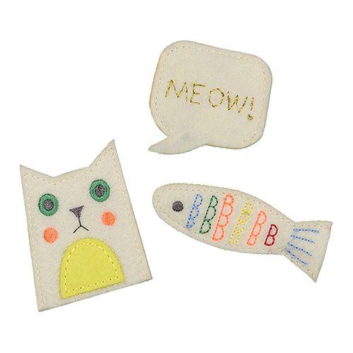 MERIMERI Cat finger puppets
