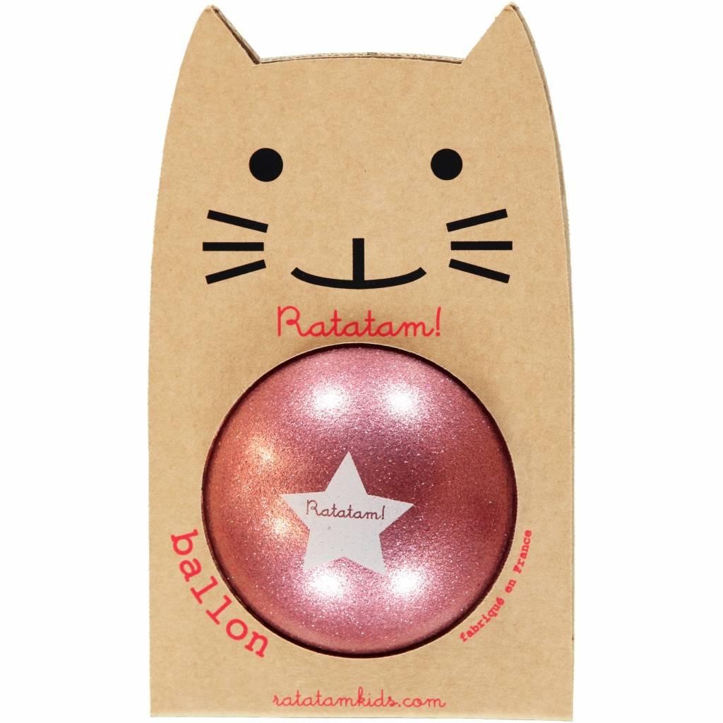 RATATAM ball pink paillettes