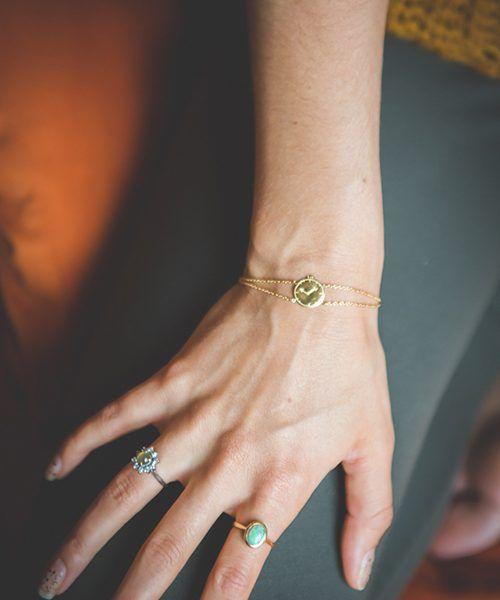 LENNEBELLE take 5 bracelet silver (adult size)