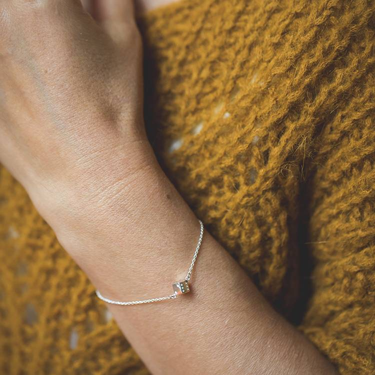 LENNEBELLE play bracelet silver (adult size)