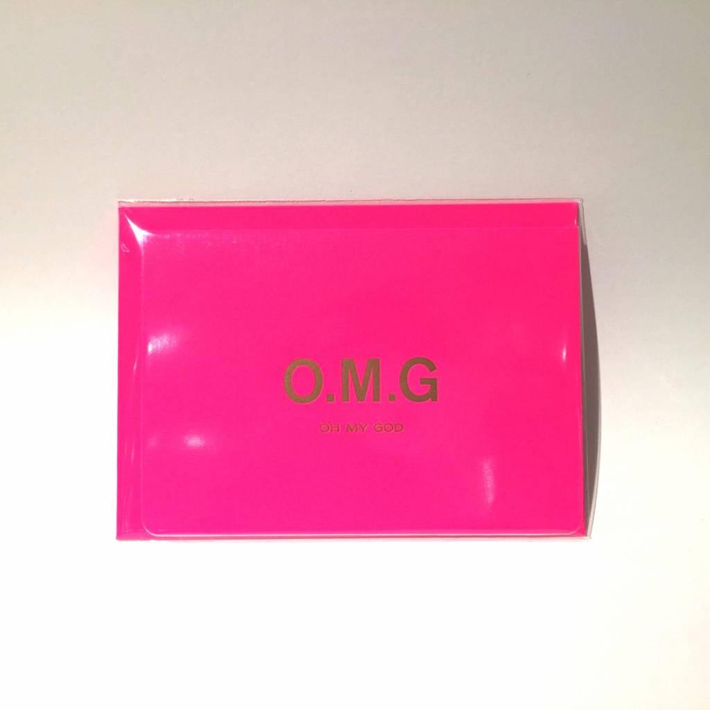 LE TYPOGRAPHE card - A6 - O.M.G.