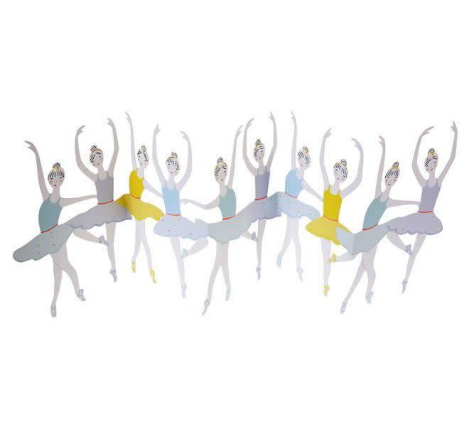MERIMERI Ballet dancers concertina card