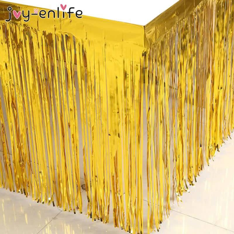 FT golden fringe banner