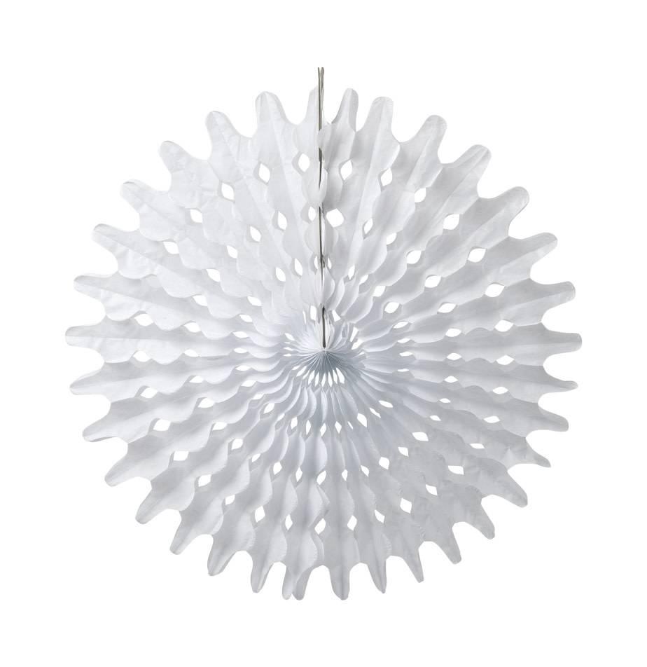 AF paper pinwheel white 50 cm