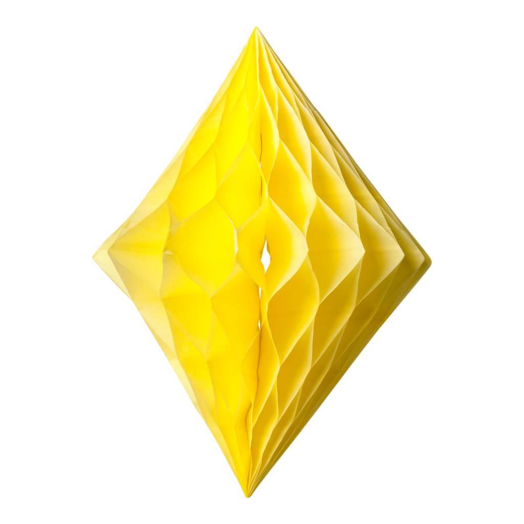 AF diamond shape honeycomb yellow 30 x 22 cm