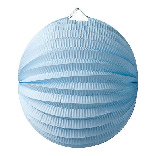 AF paper globe sky blue 20 cm