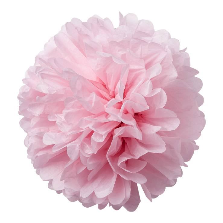 AF 2 paper pompons pink 40 cm & 50 cm