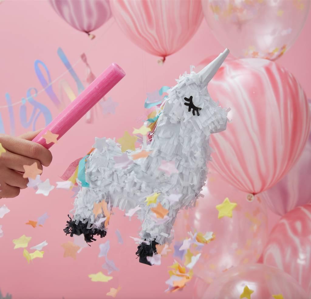 GINGERRAY mini unicorn pinata - make a wish