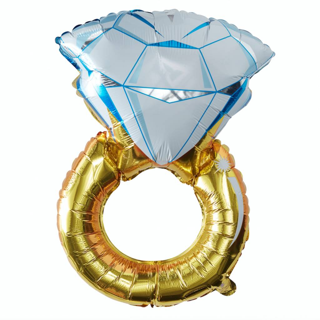 GINGERRAY foil ring balloon - I do crew