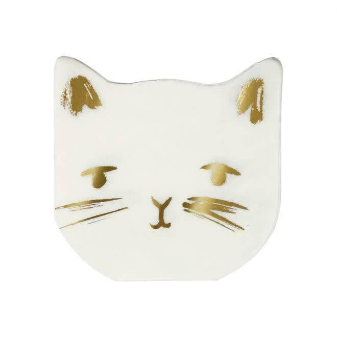 MERIMERI Cat napkins