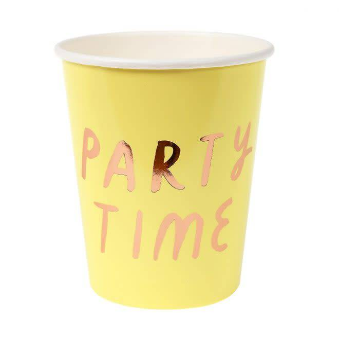 MERIMERI Pastel text party cups