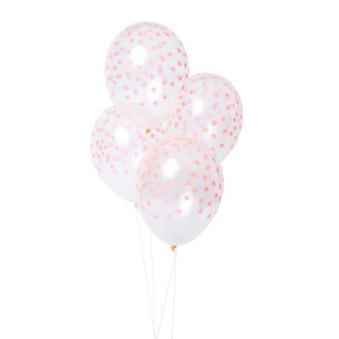 MERIMERI Coral star balloons