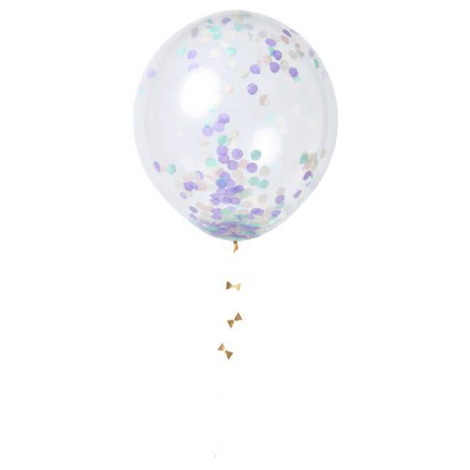 MERIMERI Pastel confetti balloons