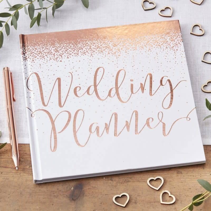 GINGERRAY wedding planner rose gold - beautiful botanics