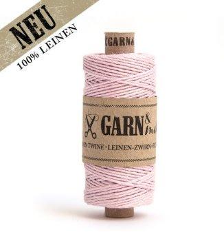 Garn & Mehr bakers twine linen powder pink