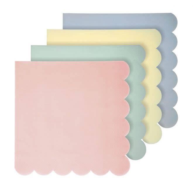 MERIMERI Pastel napkins L