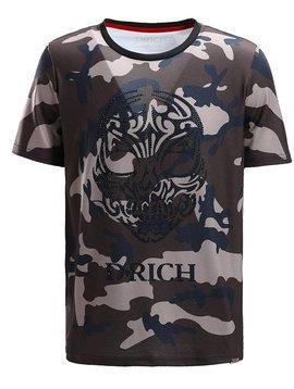 D-Rich Army Skull Green