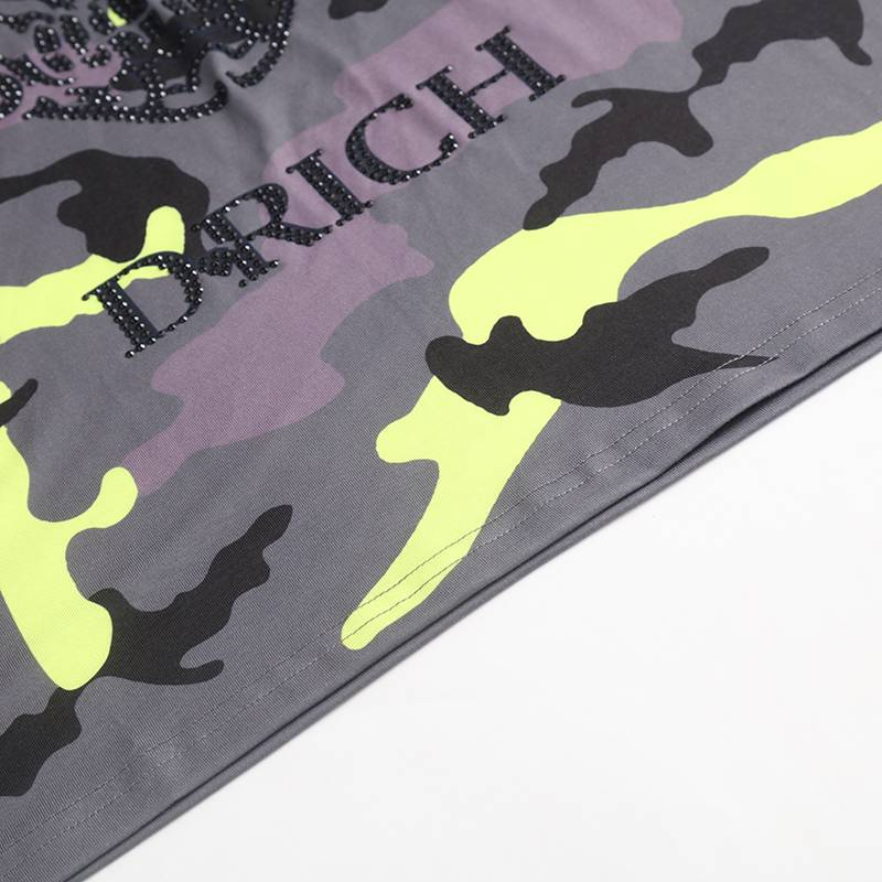 D-Rich Army skull Yellow