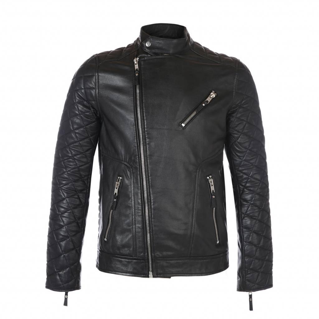 D-Rich biker skull jacket