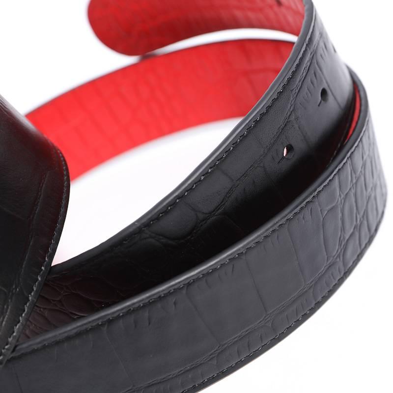 Belt Snake Black- red