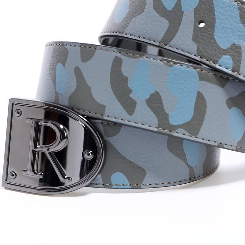belt camo black - blue