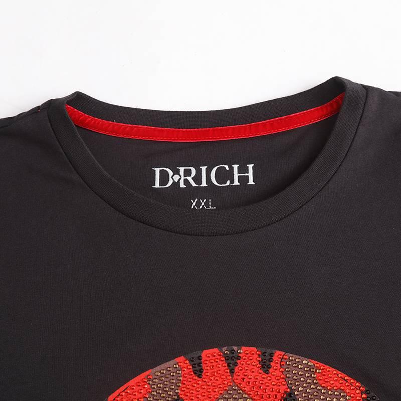 D-Rich Camo skull - red (Kids)