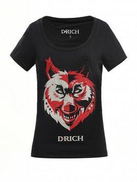 D-Rich Wolf Black Red women