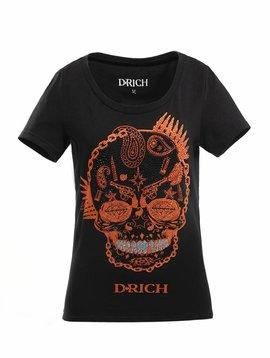 D-Rich Gun Skull -Women