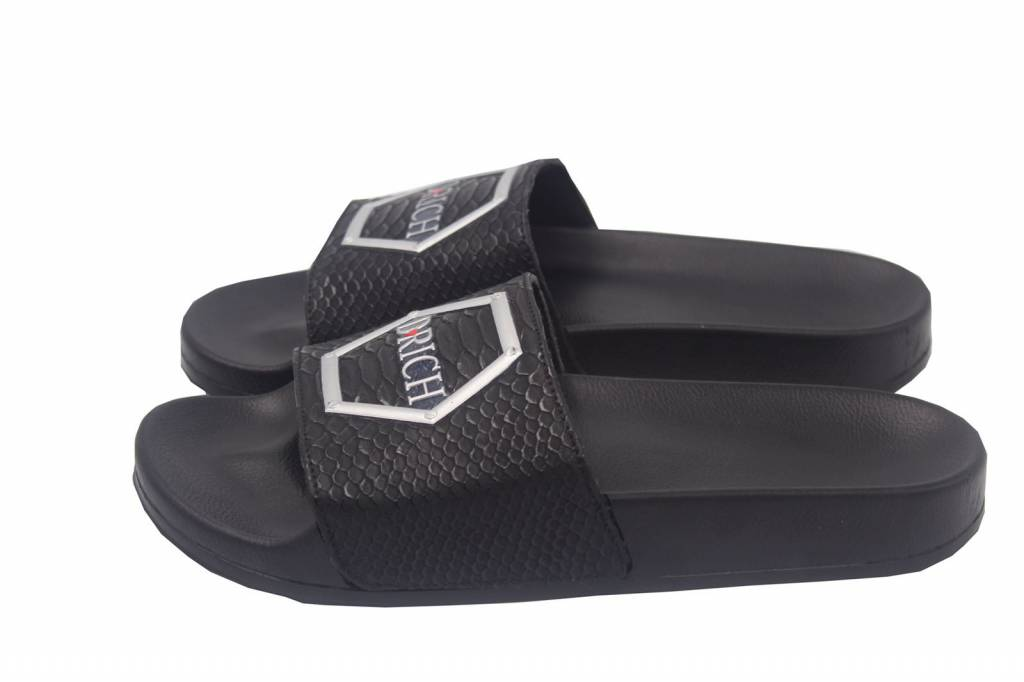 D-Rich DR Slippers Black