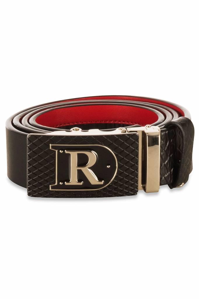 D-Rich Dr Belt Black Red 2017