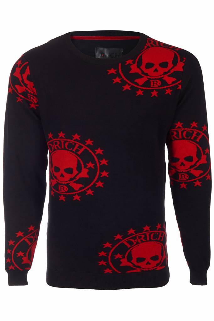 D-Rich AN Star Sweater