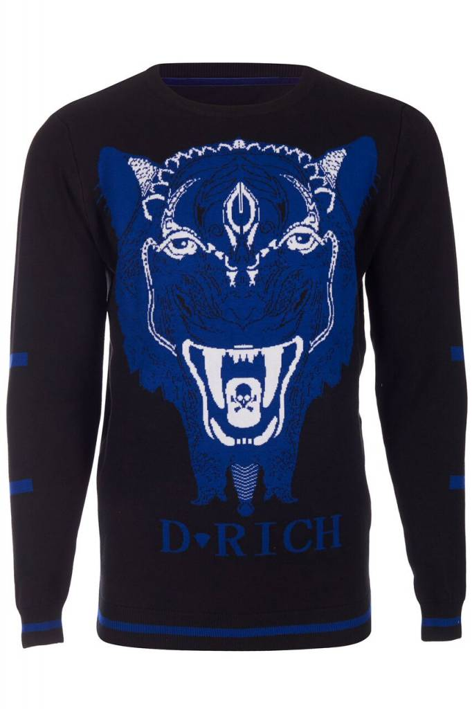 D-Rich Tiger Sweater