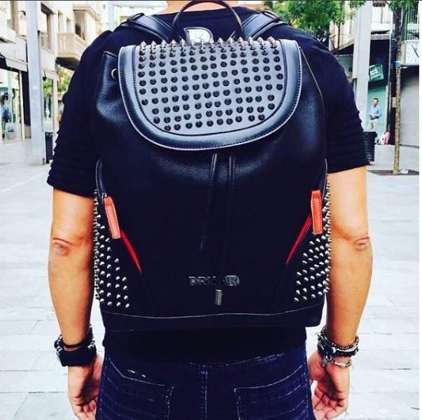 D-Rich Spikey Bag