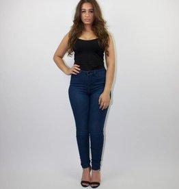 High Waist Jeans Plain