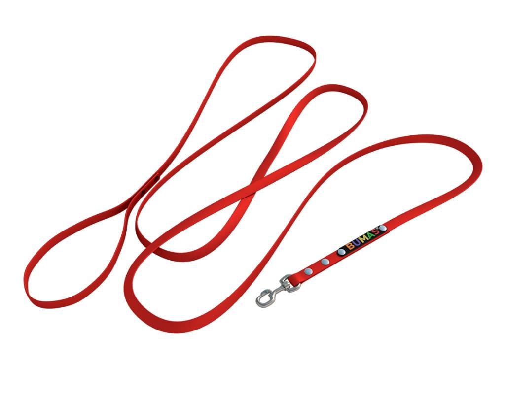 BUMAS - das Original. BUMAS – easy going – correa de BioThane® en rojo