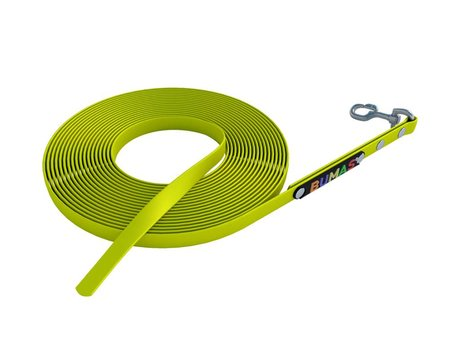 BUMAS - das Original. BUMAS tracking leash neon yellow