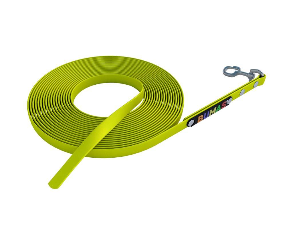 BUMAS - das Original. BUMAS – sport – correa larga de BioThane® en amarillo neón