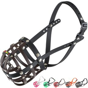 BUMAS Muzzle German Shepherd, brown/black