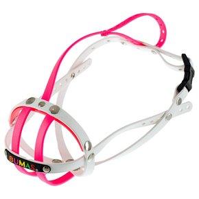 BUMAS muzzle Size 6, pink/white
