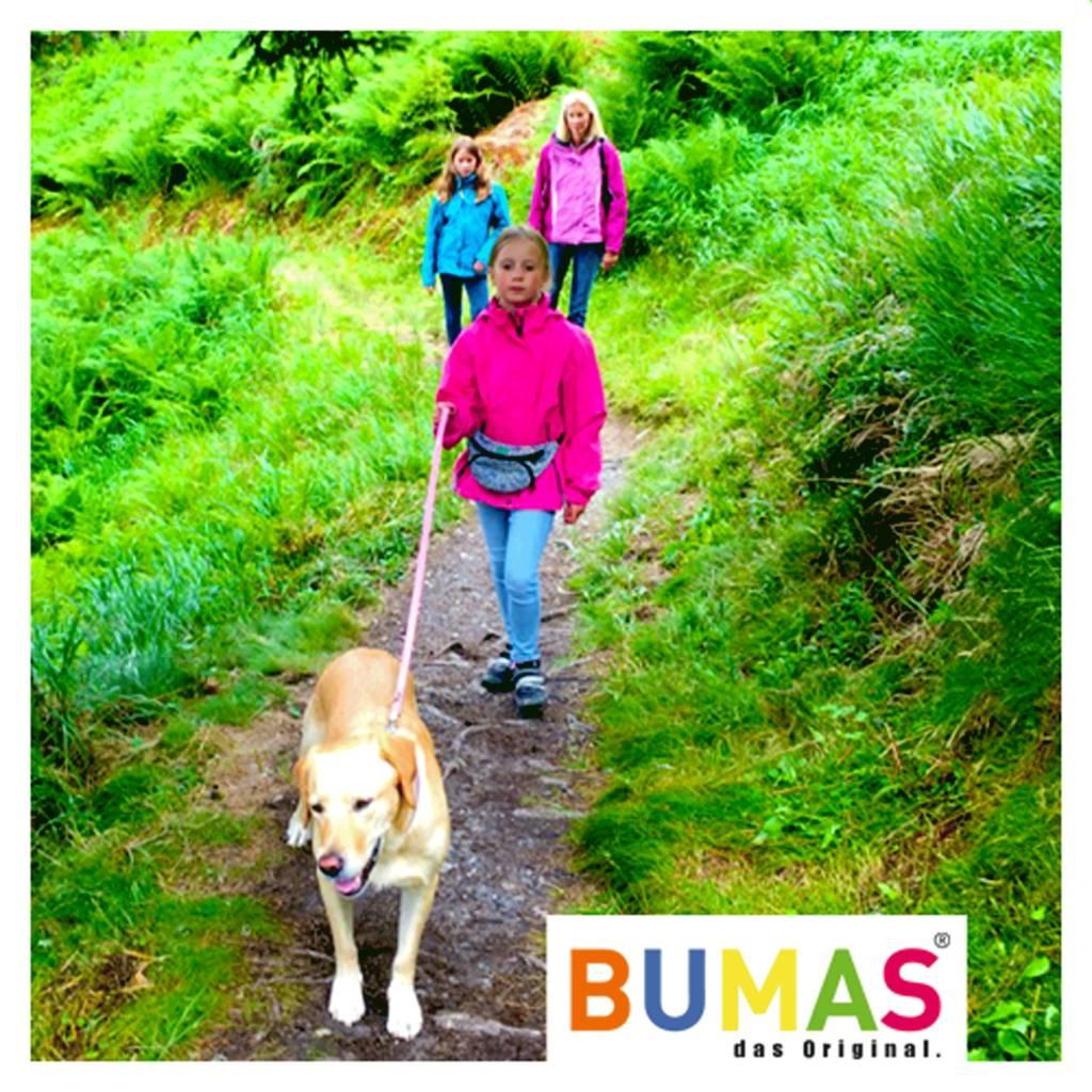 BUMAS - das Original. BUMAS - easy going - Führleine aus BioThane® in hellbraun