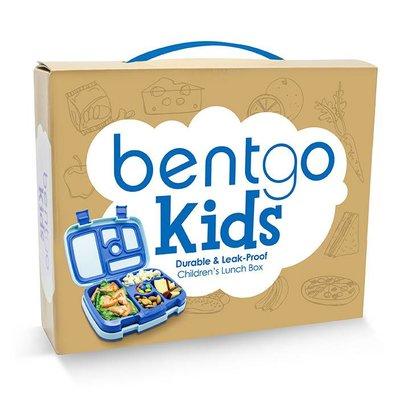 bentgo Bentgo-KIDS mit 5 Unterteilungen, Auslaufsicher - Blau
