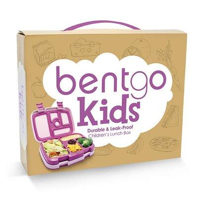 bentgo Bentgo-KIDS mit 5 Unterteilungen, Auslaufsicher - Lila