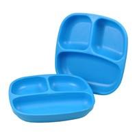 Re-Play Re-Play Teller mit 3fach Unterteilung-  blau